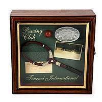"Ключница для дома теннисиста ""Ракетка и серебряная салатница"" 59712SC"