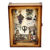 """Ключница для ключей с виноградной гроздью """"Любимое дело винодела"""" YS722282"""