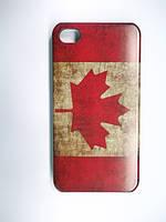 Бампер Чехол для iPhone 4 4S Флаг 2 вида
