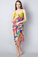 Женское  пляжное  парео яркой окраски, фото 1