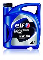 Масло моторное ELF EVOLUTION 900 NF 5W40 (ACEA A3/B4 - API SL/CF, VW 502.00/505.00, MB 229.3) 4L