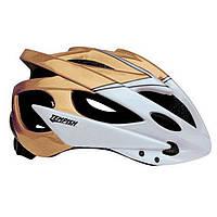 Шлем Tempish SAFETY (бело-золотой)