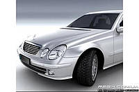 Защитные велюровые накладки на карты дверей для Mercedes-Benz W211
