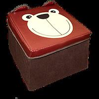"""ПУФ """"ПУФ """"Медведь"""" (для игрушек)"""