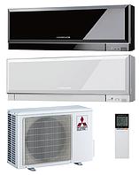 Кондиционер Mitsubishi Design Inverter MSZ-EF35VEB/W MUZ-EF35VE (black/white) до 35м2