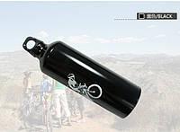 Фляга велосипедная алюминиевая SportPot (черная)