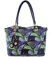Женская сумка с цветочным принтом. Комплект из двух сумок.