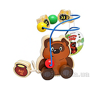 Деревянная игрушка Bambi Лабиринт на проволоке GT 5934