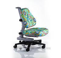 Детское кресло Mealux Y-818 ZB обивка зеленая с мячами