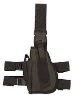 Пистолетная кабура  набедренная левосторонняя, oliv, Германия MFH