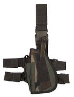 Пистолетная кабура  набедренная левосторонняя, woodland, Германия MFH