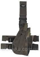 Пистолетная кабура  набедренная правосторонняя, HDT-camo FG, Германия MFH