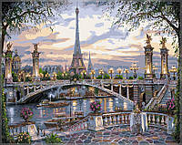 """Картина по номерам """"Чудесный/Удивительный Париж"""" 40х50 см. КН1148. Идейка."""