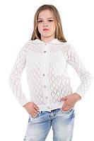 Кофта ажурная для девочки подростка (разные цвета)