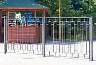 Сварной забор высота 1540 (СВ-01), бесплатная доставка по Украине