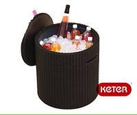 Cool Столик-Пуф охолоджувач 3 в 1 з імітацією ротангу