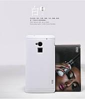 Чехол Nillkin для HTC One MAX белый (+пленка)