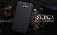 Чехол Nillkin для HTC One X / S720e чёрный (+пленка)