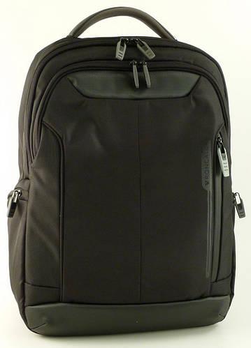 """Качественный городской рюкзак с отделением для ноутбука 15,6"""" 29 л. Roncato Overline 3853/01 черный"""