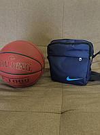 Барсетка Nike, модель Б-8. Сине-голубой цвет. Отправляем по всей Украине. Опт и розница.