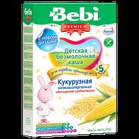 Безмолочная каша Bebi Premium (Беби Премиум) кукурузная низкоаллергенная, 200 г, для первого прикорма