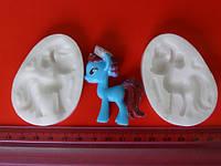 """Молд силиконовый для мастики """"Пони 3D 8"""""""