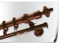 Карниз круглый труба+шина 3м махонь