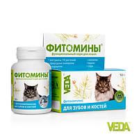 Фитомины для зубов и костей кошек