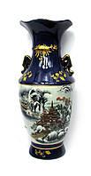 Керамическая ваза (высота 35 см)