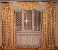 Комплект штор Моника для гостинной спальни купить недорого