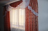 Комплект штор Моника для гостинной спальни недорого