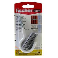 Fischer S 10 x 50 HN K - Дюбель SX 10 с круглым крюком белым, покрытым нейлоном