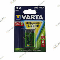 Аккумулятор Varta 200 mAh, 9 V