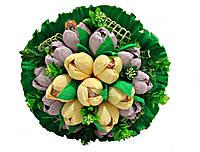 Букет из конфет Весенняя свежесть