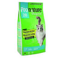 Сухой корм для взрослых котов Pronature Original СИФУД ДЕЛАЙТ 5.44кг.