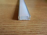 Алюминиевый профиль для светодиодной ленты LD-7 + Линза