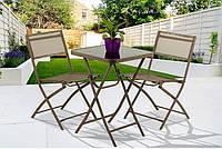Балконні складні меблі. Столик + 2 крісла