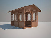 Альтанка деревянная  Adelle-4