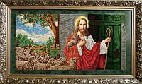 Вишивка бісером Ісус стукає у двері