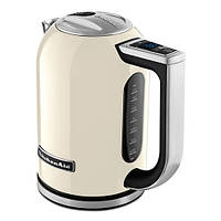 Чайник электрический KitchenAid 5KEK1722EAC из нержавеющей стали, цвет кремовый, фото 1