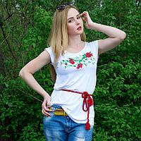 Жіноча футболка з вишивкою