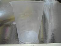 Кружка мерная пластиковая 200мл. (код 04118)