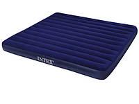 Двухспальный надувной матрас Intex 68755 203-183 см