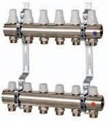 Коллектор с ручной регулировкой ICMA 6 выходов (К005)