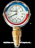 Термоманометр 0-16бар/0-120*С МТ-80