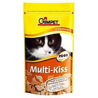 Витамины для котов и кошек Gimpet Multi-Kiss 12 витаминов, 65 шт