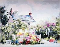 Картина по номерам  Сказочный домик40 х 50 см(MS615)