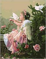 Набор для рисования Ангелочек с голубями40 х 50 см(VP033)