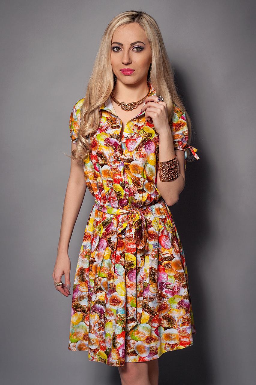 Модели летних платьев из штапеля