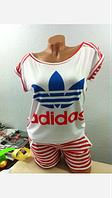Летний молодежный спортивный костюм Adidas. (Арт. 466-29)